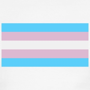 Transgender Pride Flag T-Shirts - Men's Ringer T-Shirt