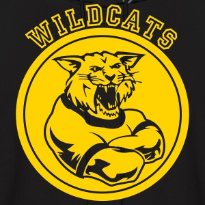 Wildcats or Wilcat Sports Team Mascot Hoodies - Men's Hoodie