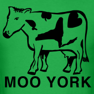 Design ~ Moo York Shirt by New York Old School