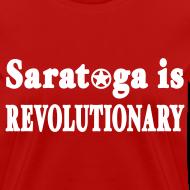 Design ~ Saratoga is Revolutionary Shirt by New York Old School