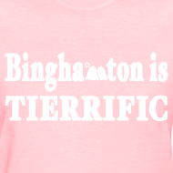 Design ~ Binghampton is Tierrific Shirt by New York Old School