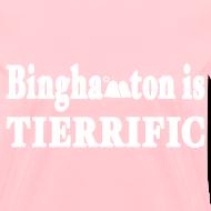Design ~ Binghampton is Tierrific Shirt by New York Old School