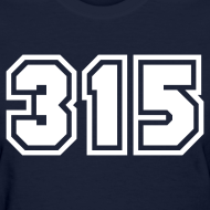 Design ~ Area Code 315 Shirt by New York Old School