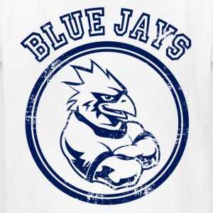 Custom Blue Jays Team Graphic Mascot Kids' Shirts - Kids' T-Shirt