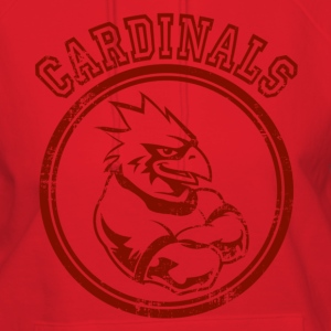 Custom Cardinals Team Graphic Mascot Hoodies - Women's Hoodie