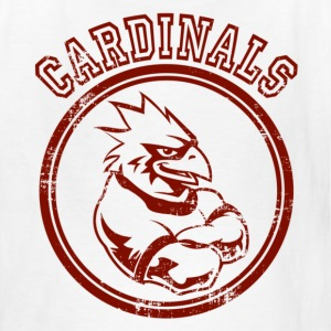 Custom Cardinals Team Graphic Mascot Kids' Shirts - Kids' T-Shirt