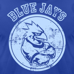 Custom Blue Jays Team Graphic Mascot T-Shirts - Men's T-Shirt by American Apparel