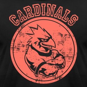Custom Cardinals Sports Team Graphic T-Shirts - Men's T-Shirt by American Apparel