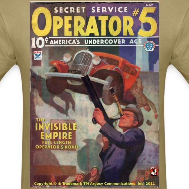 Operator #5 Invisble Empire