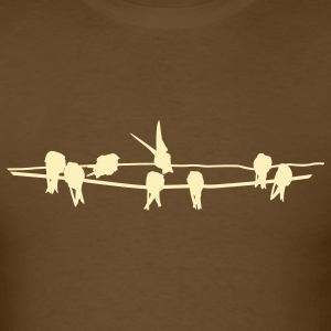 birds of a feather - Men's T-Shirt