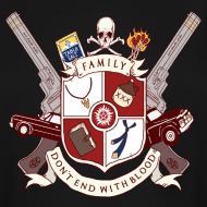 Design ~ Family Don't End With Blood crest
