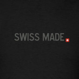 swiss_made_black - Men's T-Shirt