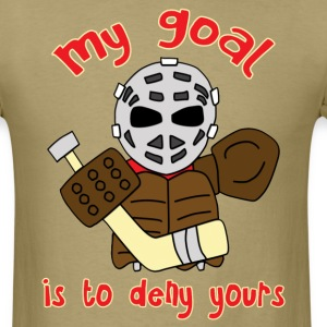 Little Vintage Goalie  T-Shirts - Men's T-Shirt