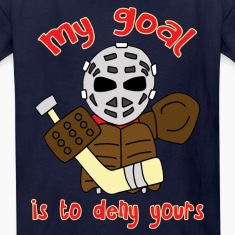 Little Vintage Goalie  Kids' Shirts