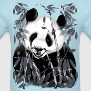 Panda - grey tone - Men's T-Shirt