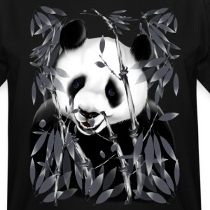 Panda - grey tone - Men's Tall T-Shirt