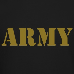Army (V) Long Sleeve Shirts - Crewneck Sweatshirt