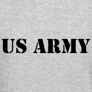 US Army (V) Long Sleeve Shirts - Crewneck Sweatshirt