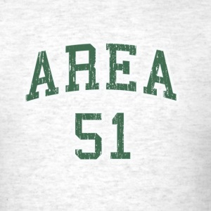 Area 51 College Tee - Men's T-Shirt