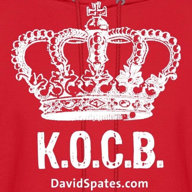 KOCB Crown  Hoodie White