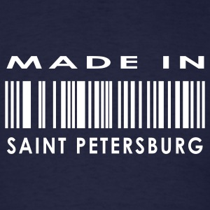 Made in Saint Petersburg  T-Shirts - Men's T-Shirt