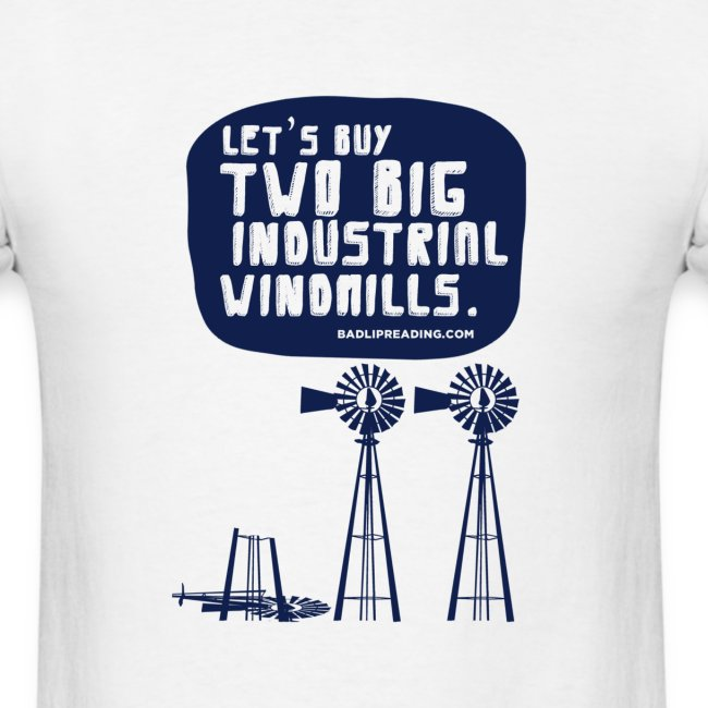 WINDMILLS (white)