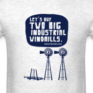 Design ~ WINDMILLS (gray)