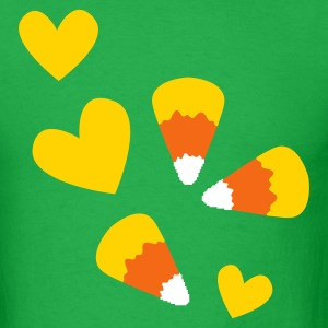 simple corn candy T-Shirts - Men's T-Shirt