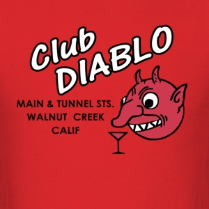 Club Diablo - Men's T-Shirt