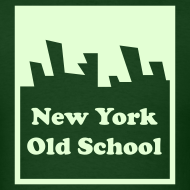 Design ~ Glow in the dark New York Old School Logo Shirt by New York Old School