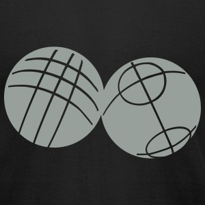 Boule petanque   T-Shirts - Men's T-Shirt by American Apparel