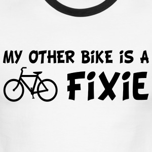My Other Bike Is a Fixie T-Shirts - Men's Ringer T-Shirt