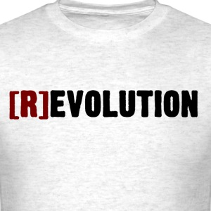 [R]evolution (Light Colors) - Men's T-Shirt