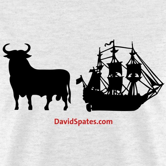 Bull Ship -  Men's Standard Weight T-Shirt -