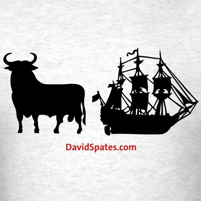 Bull Ship -  Men's Standard Weight T-Shirt -