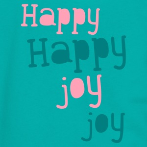 happy happy joy joy Zip Hoodies/Jackets - Unisex Fleece Zip Hoodie by American Apparel