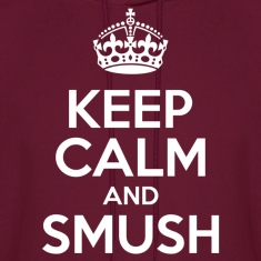 Keep Calm Smush Hoodies