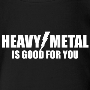 Heavy Metal is good for you - Short Sleeve Baby Bodysuit