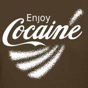 Enjoy Cocaine v2 Women's T-Shirts - Women's T-Shirt