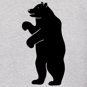 bear beer berlin  strong hunter hunting wilderness grizzly predator Hoodies - Men's Hoodie