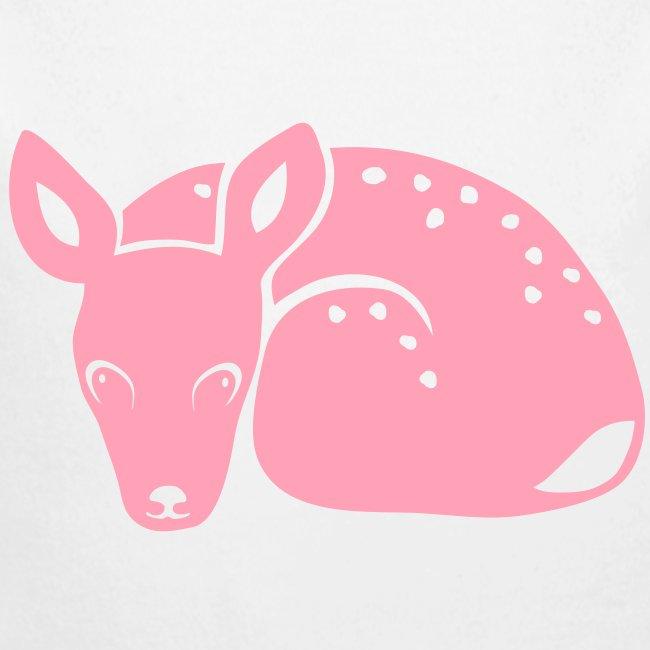 t-shirt fawn kid deer timid cute bambi animal baby