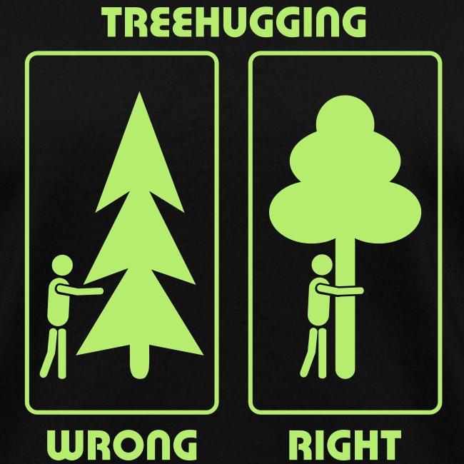 t-shirt treehugging tree hug treehugger trees forest natur