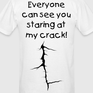 Crack T-Shirts - Men's T-Shirt