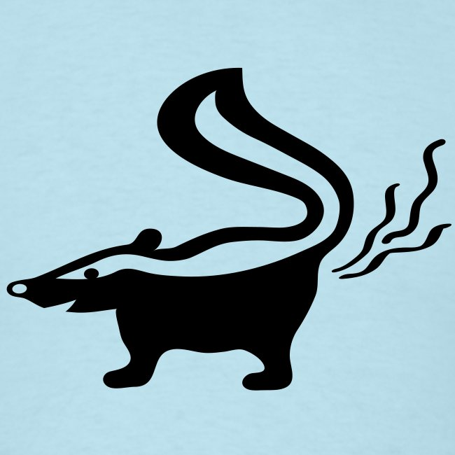 t-shirt skunk animal stinker skunkish