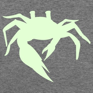 simple sand crab Long Sleeve Shirts - Women's Wideneck Sweatshirt