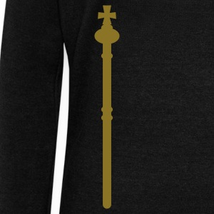 plain golden sceptre STAFF Long Sleeve Shirts - Women's Wideneck Sweatshirt