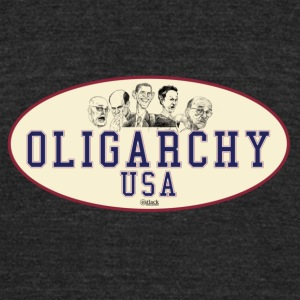 OLIGARCHY USA - Unisex Tri-Blend T-Shirt by American Apparel