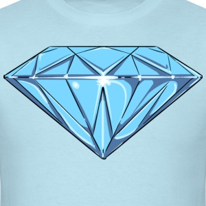 Diamond ( HD Pixel Design ) - Men's T-Shirt