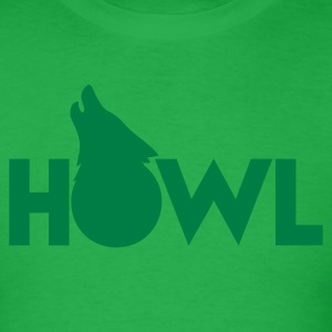 moon wolf HOWL T-Shirts - Men's T-Shirt