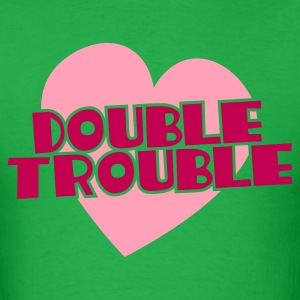 double trouble T-Shirts - Men's T-Shirt